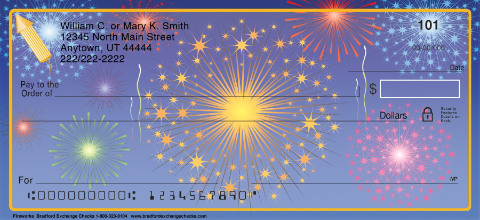 Fireworks Personal Checks