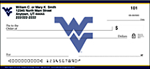 West Virginia University Personal Checks