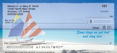 Beach Escapes Personal Checks