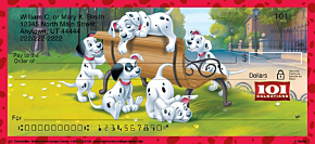 101 Dalmatians Personal Checks