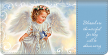 Blessed Angels Checkbook Cover