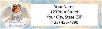 Blessed Angels Return Address Label