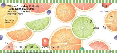 Tutti Frutti Personal Checks
