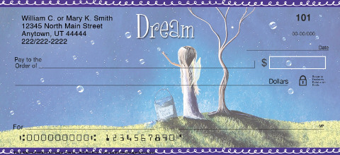 Fairy Wishes Personal Checks