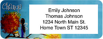 Fairy Wishes Return Address Label