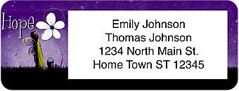 Fairy Wishes Return Address Label