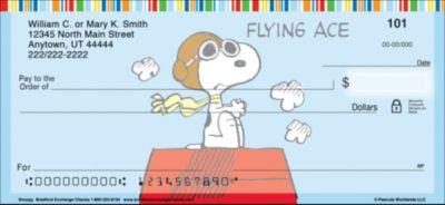 Snoopy Personal Checks