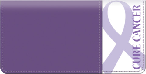 Cure Cancer Checkbook Cover