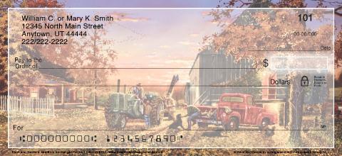 Farm and Tractors Personal Checks