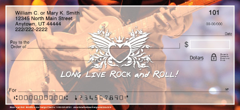 Rock and Roll Personal Checks