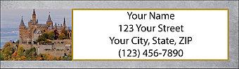 Castles Return Address Label