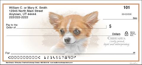 Chihuahua Best Breeds Personal Checks