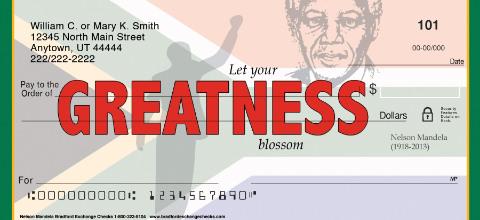 Nelson Mandela Personal Checks