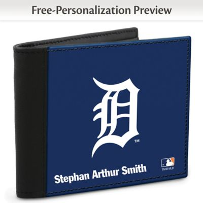 Detroit Tigers(TM) MLB(R) Logo Men's RFID Wallet