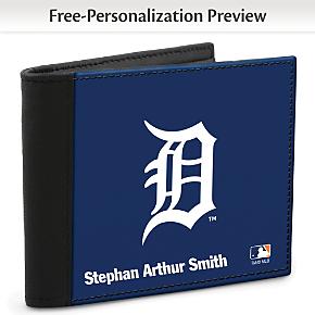 Detroit Tigers(TM) MLB(R) Logo Men's RFID Wallet