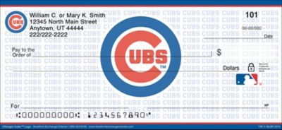Chicago Cubs(TM) MLB(R) Logo Personal Checks