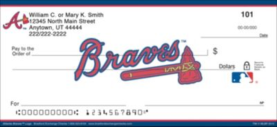 Atlanta Braves(TM) MLB(R) Logo Personal Checks