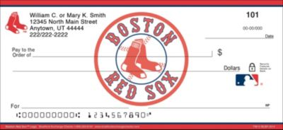 Boston Red Sox(TM) MLB(R) Logo Personal Checks