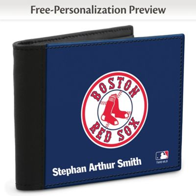 Boston Red Sox(TM) MLB(R) Logo Men's RFID  Wallet