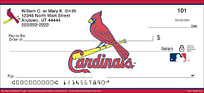 St. Louis Cardinals(TM) MLB(R) Logo Personal Checks