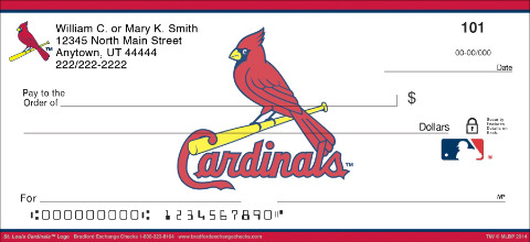St. Louis Cardinals™ MLB® Logo Personal Checks
