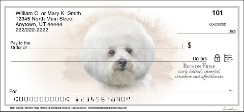 Bichon Frise Best Breeds Personal Checks