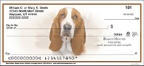 Best Breeds - Basset Hound Personal Checks