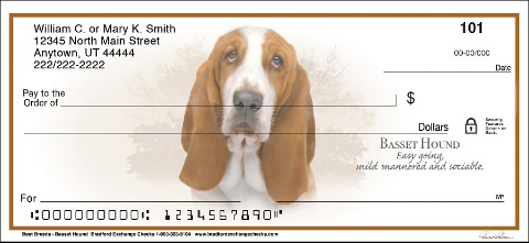 Best Breeds Basset Hound Personal Checks