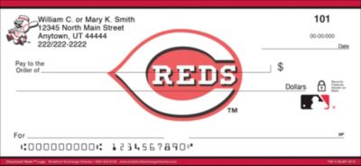 Cincinnati Reds(TM) MLB(R) Logo Personal Checks