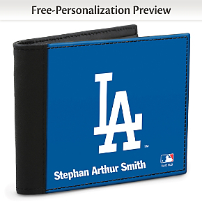 Los Angeles Dodgers(TM) MLB(R) Logo Men's RFID Wallet