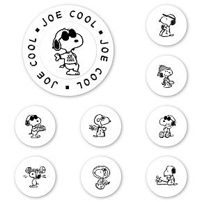 Peanuts Joe Cool Peel & Stick Interchangeable Stamp Set