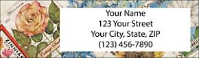 Vintage Seed Packets Return Address Label