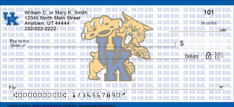University of Kentucky Personal Checks