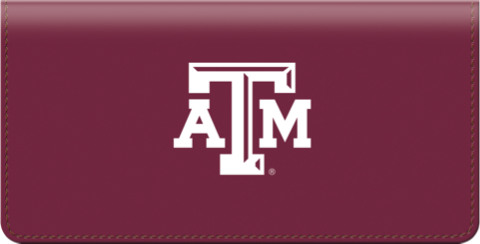 Texas A&M University Checkbook Cover 1800874010