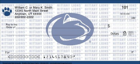 Pennsylvania State University Personal Checks