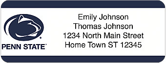 Pennsylvania State University Return Address Label