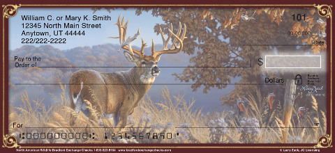 Image of Beautiful North American Wildlife Personal Checks
