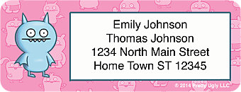 Ugly Dolls Return Address Labels