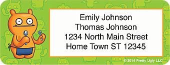 Ugly Doll Friends Return Address Label