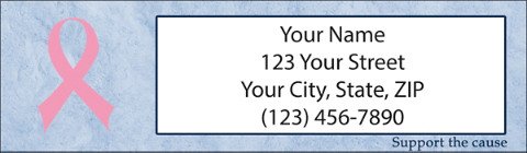 Support the Cause Return Address Labels