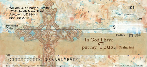 Crosses Of Faith Personal Checks