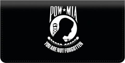 Army Checks - POW MIA Checkbook Cover