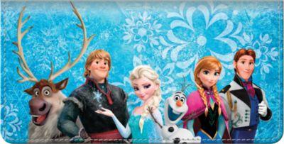 Frozen Checkbook Cover