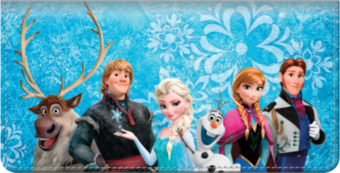 Frozen Checkbook Cover