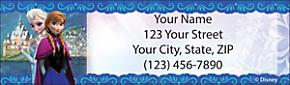 Frozen Return Address Label