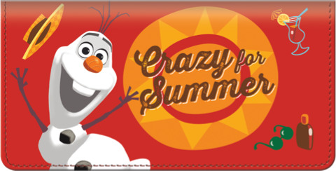 Olaf in Summer Checkbook Cover 1800932010