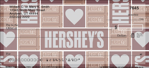Hershey's Chocolate Personal Checks