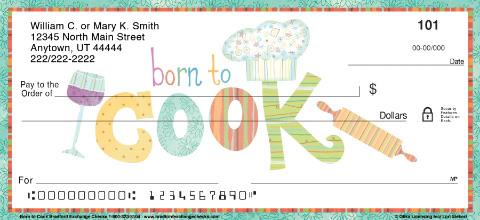 Born to Cook Personal Checks