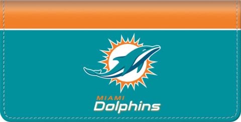 Miami Dolphins NFL Checkbook Cover