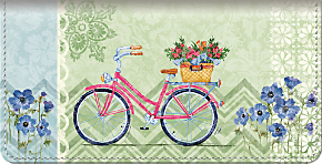 Bicycles Checkbook Cover